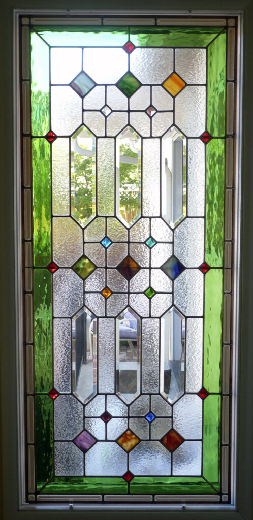 stained glass Campbell color splash window california